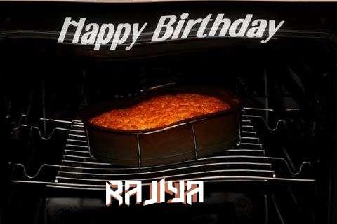 Happy Birthday Rajiya Cake Image