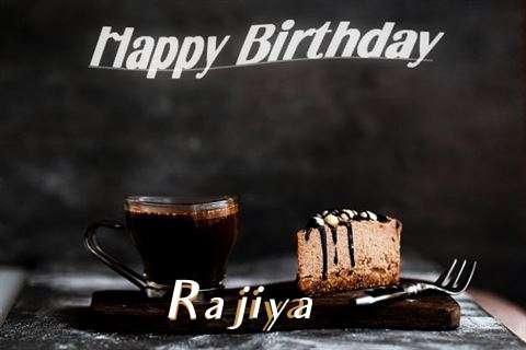 Happy Birthday Wishes for Rajiya