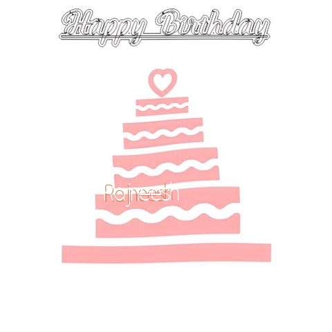 Happy Birthday Rajneesh Cake Image