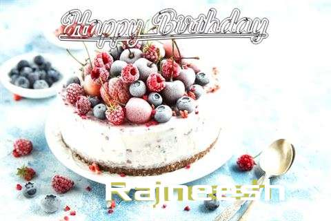 Happy Birthday Cake for Rajneesh