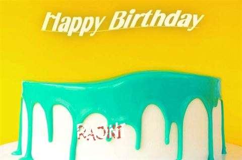 Happy Birthday Rajni Cake Image