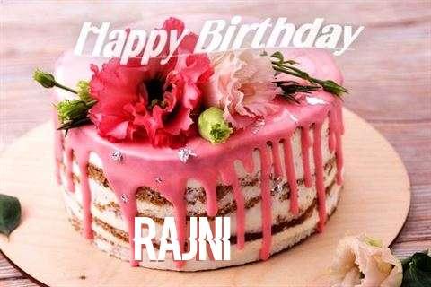 Happy Birthday Cake for Rajni