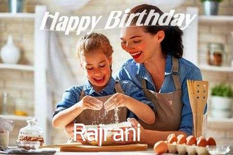 Birthday Wishes with Images of Rajrani