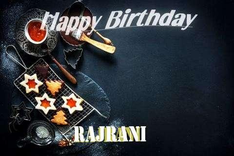 Happy Birthday Rajrani Cake Image
