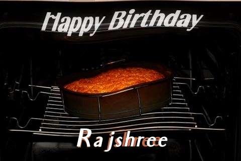 Happy Birthday Rajshree Cake Image