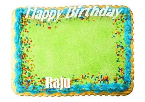 Happy Birthday Raju Cake Image
