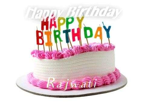 Happy Birthday Cake for Rajwati