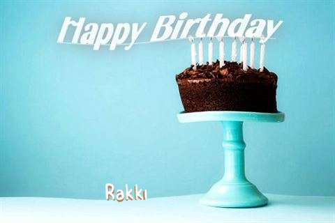 Birthday Wishes with Images of Rakki