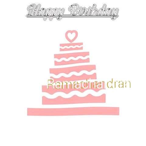 Happy Birthday Ramachandran Cake Image