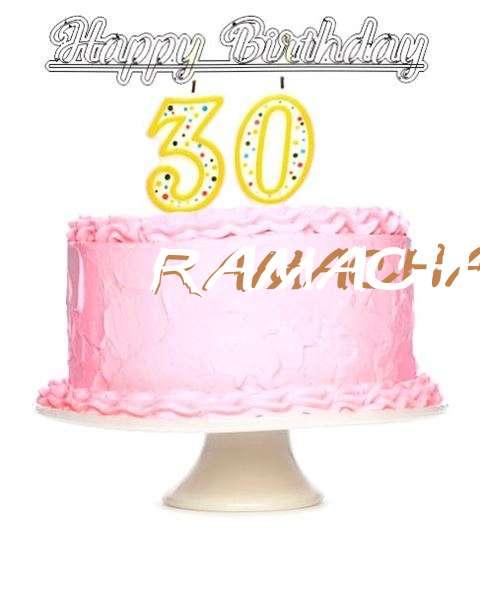 Wish Ramachandran