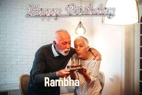 Rambha Birthday Celebration