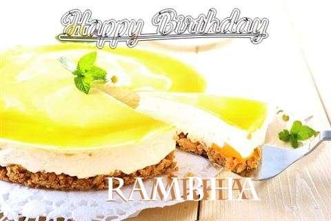 Wish Rambha