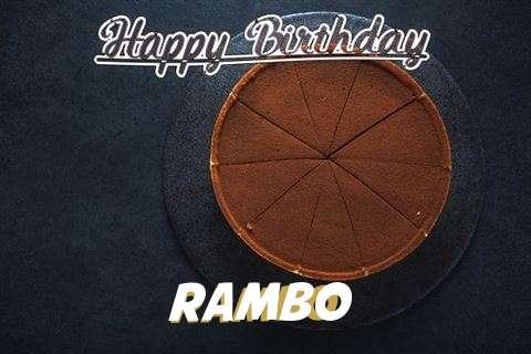 Happy Birthday to You Rambo