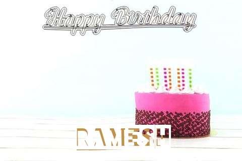Happy Birthday to You Ramesh