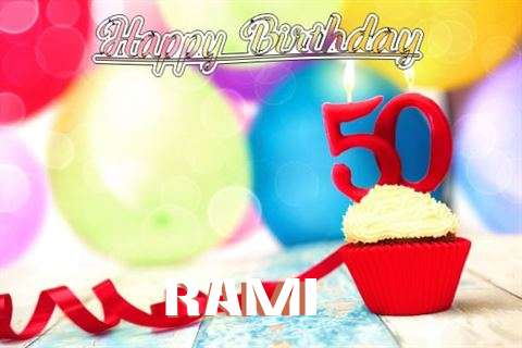 Rami Birthday Celebration