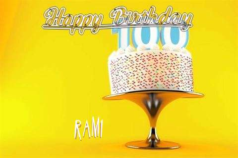 Happy Birthday Wishes for Rami