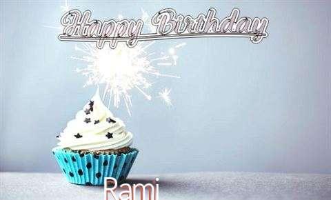 Happy Birthday to You Rami