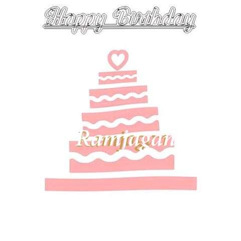 Happy Birthday Ramjagan Cake Image
