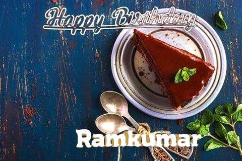 Happy Birthday Ramkumar Cake Image