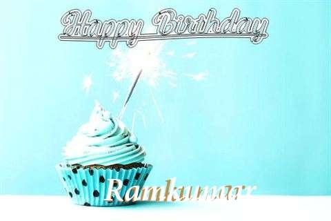 Happy Birthday Cake for Ramkumar