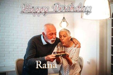 Rana Birthday Celebration