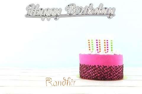 Happy Birthday to You Randhir