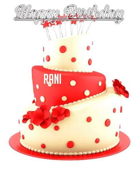 Happy Birthday Wishes for Rani