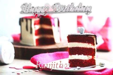 Happy Birthday Wishes for Ranjitha