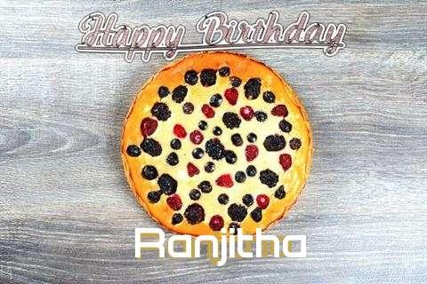 Happy Birthday Cake for Ranjitha
