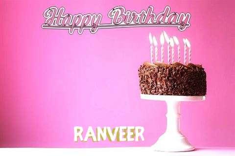 Happy Birthday Cake for Ranveer