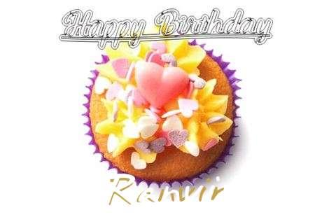 Happy Birthday Ranvir Cake Image