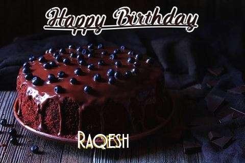 Happy Birthday Cake for Raqesh