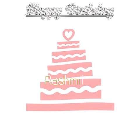 Happy Birthday Rashmi Cake Image