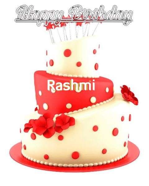 Happy Birthday Wishes for Rashmi