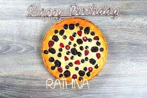 Happy Birthday Cake for Rathna