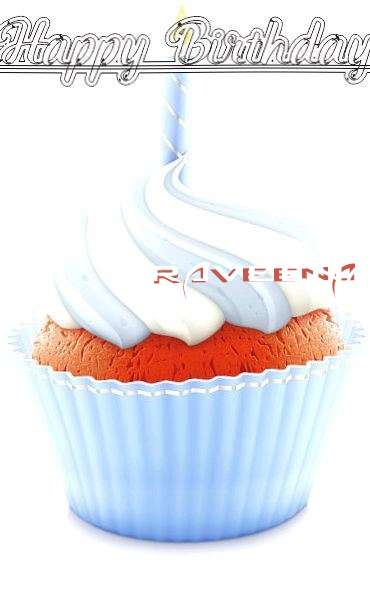 Happy Birthday Wishes for Raveena