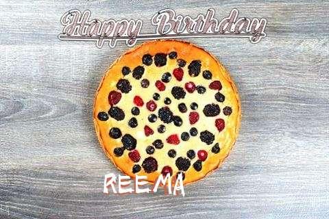 Happy Birthday Cake for Reema