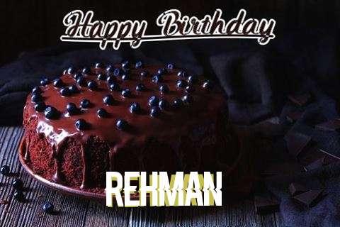 Happy Birthday Cake for Rehman