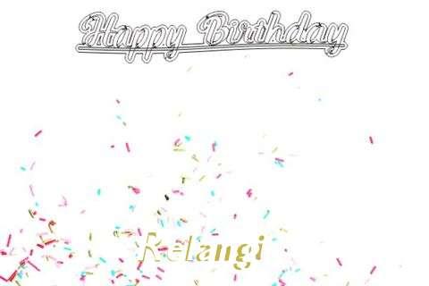 Happy Birthday to You Relangi