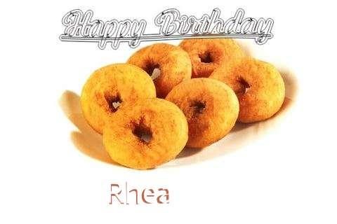 Happy Birthday Rhea