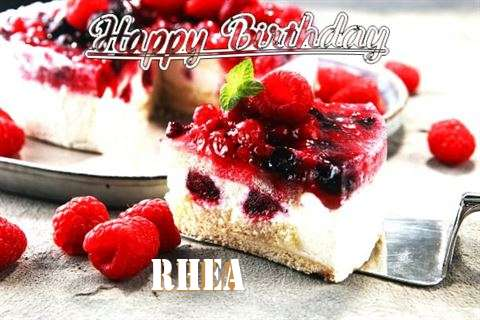 Happy Birthday Wishes for Rhea