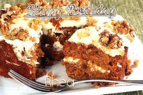 Rhea Cakes