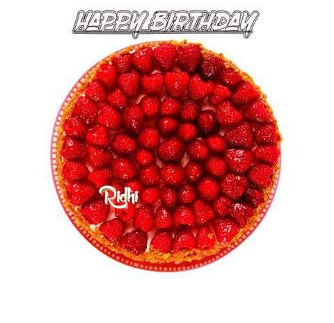 Happy Birthday to You Ridhi