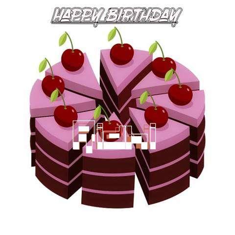 Happy Birthday Cake for Ridhi