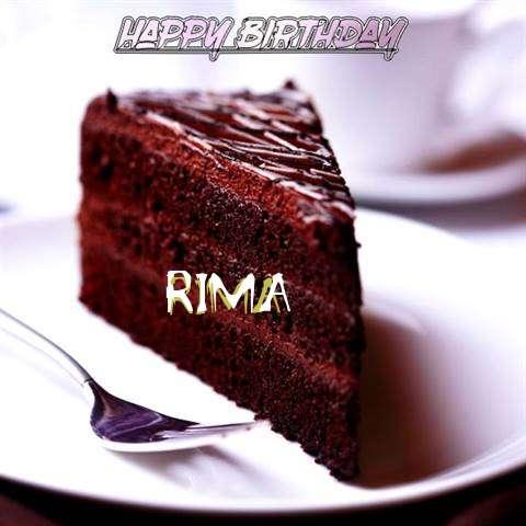 Happy Birthday Rima