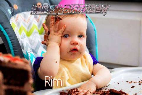 Happy Birthday Wishes for Rimi