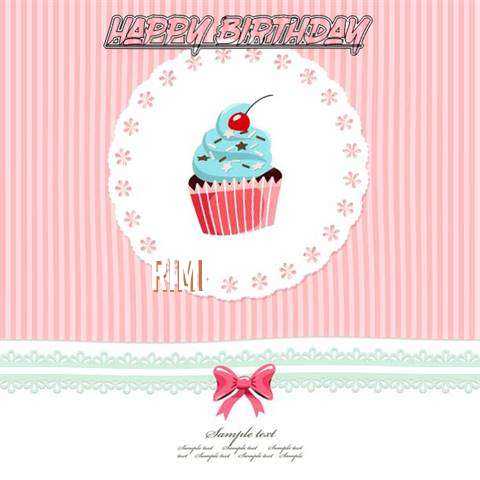Happy Birthday to You Rimi