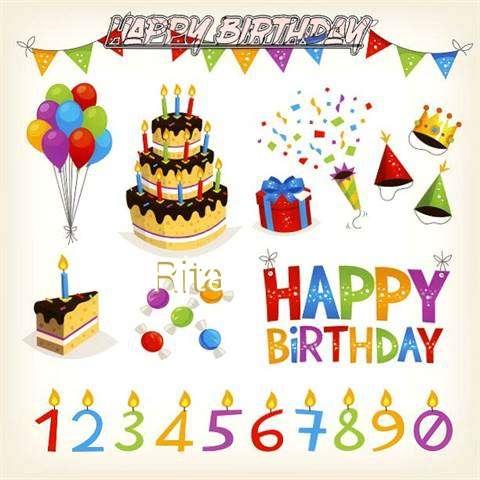 Birthday Images for Rita