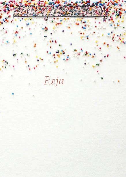 Happy Birthday Roja