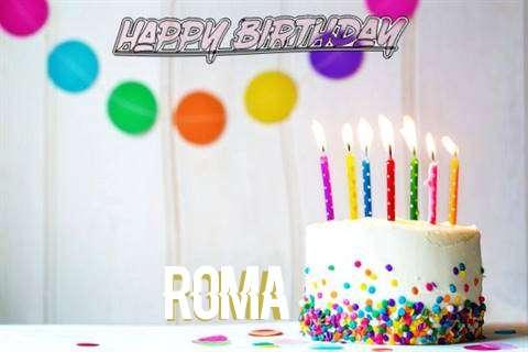 Happy Birthday Cake for Roma